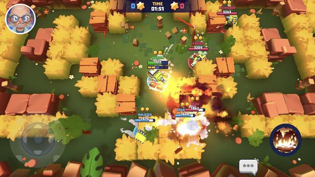 Tanks A Lot! - Realtime Multiplayer Battle Arena تصوير الشاشة 7