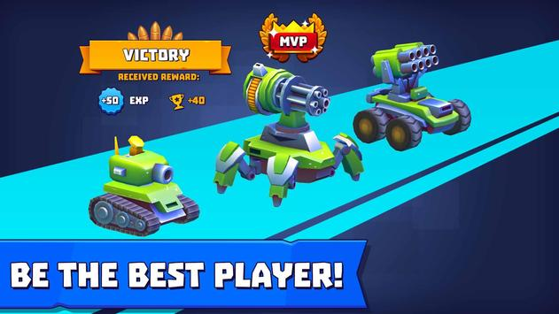 Tanks A Lot! - Realtime Multiplayer Battle Arena تصوير الشاشة 4