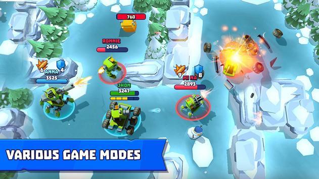 Tanks A Lot! - Realtime Multiplayer Battle Arena تصوير الشاشة 5