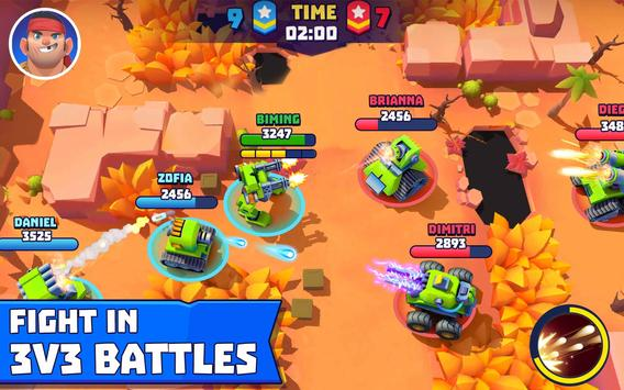 Tanks A Lot! - Realtime Multiplayer Battle Arena स्क्रीनशॉट 8