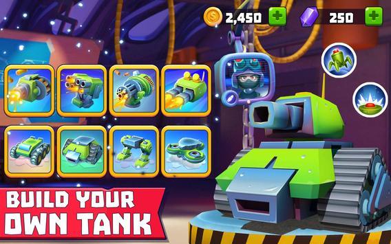 Tanks A Lot! - Realtime Multiplayer Battle Arena تصوير الشاشة 17
