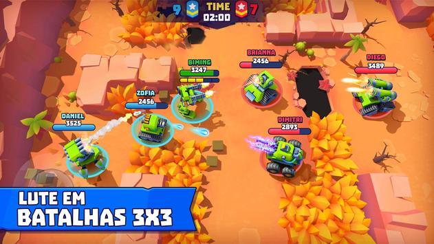 Tanks A Lot! - Realtime Multiplayer Battle Arena Cartaz