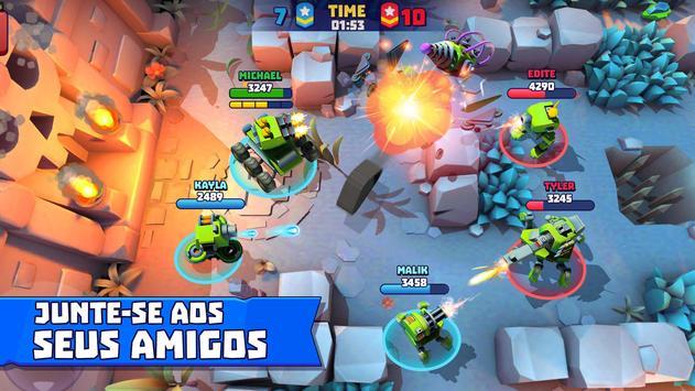 Tanks A Lot! - Realtime Multiplayer Battle Arena imagem de tela 2