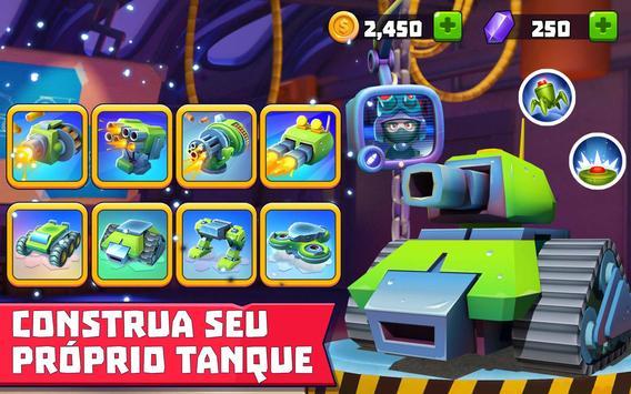 Tanks A Lot! - Realtime Multiplayer Battle Arena imagem de tela 9