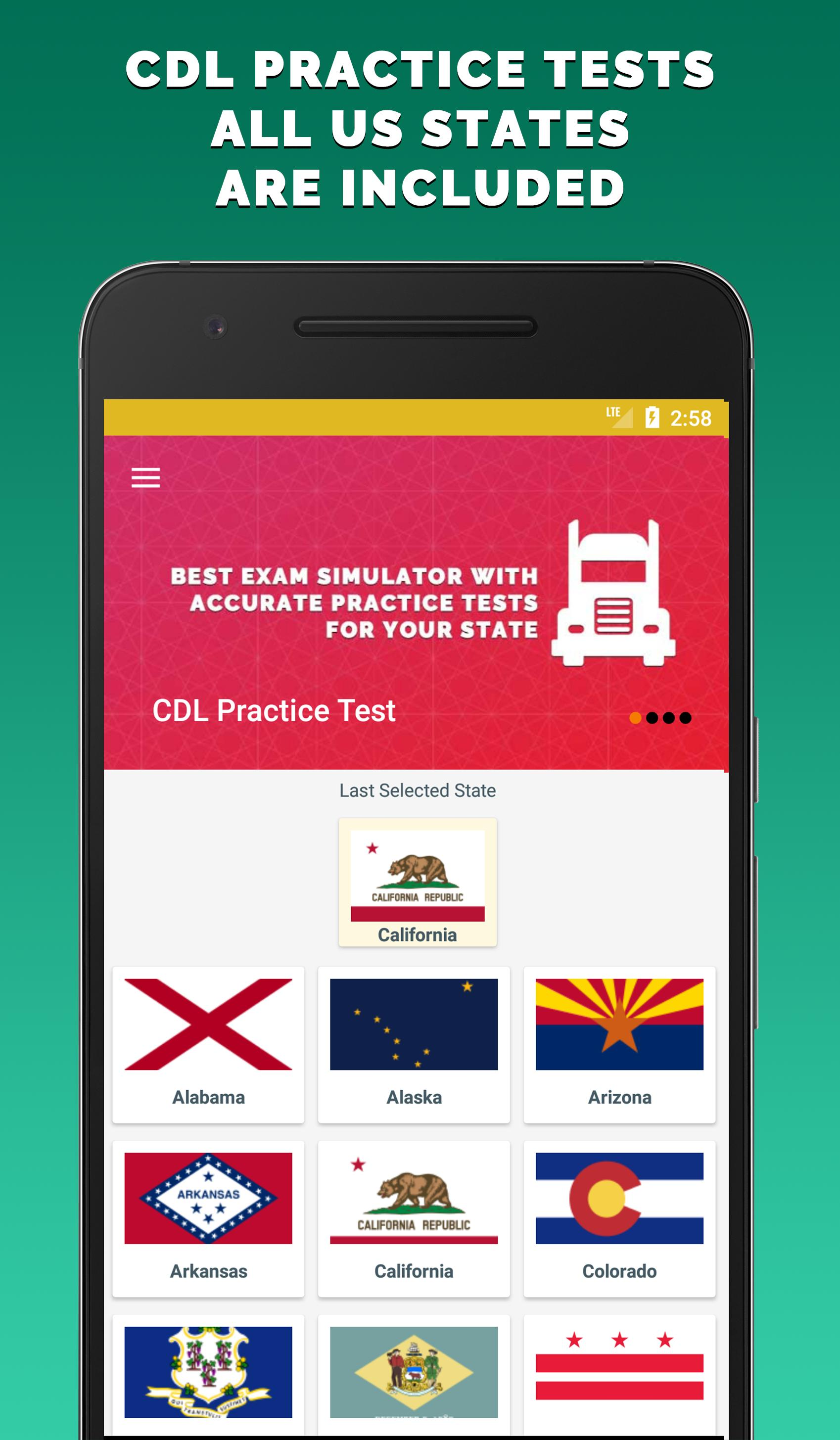 CDL Practice Test for Android - APK Download on dmv written test, cdl license test, dmv license renewal sign test, cdl training, cdl written test, driving test, florida cdl test, cdl study test, cdl general knowledge test, drivers ed signs test, cdl test answers, cdl jobs, adot cdl test, dmv air brake test, cdl eye test, cdl backing test, cdl skills test diagram, cdl drivers test, permit test,
