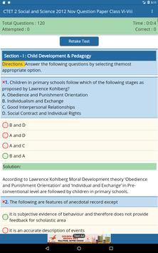 CTET Exam 1 & 2 Previous Question Papers screenshot 10