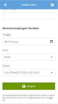 Pendaftaran Online RS.Karima Utama screenshot 3
