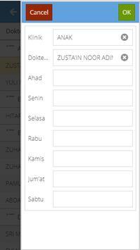 Pendaftaran Online RS.Karima Utama screenshot 7