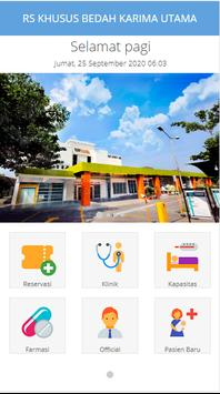 Pendaftaran Online RS.Karima Utama screenshot 4