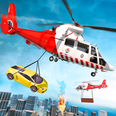 Emergency Helicopter Rescue Transport icon