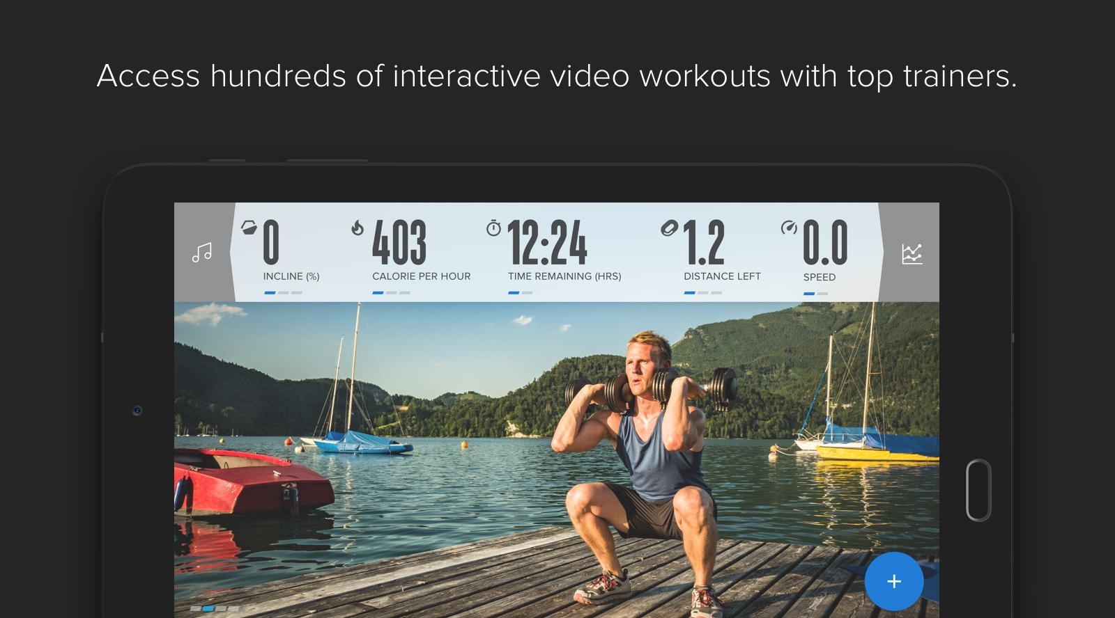 iFit—Smart Cardio Equipment for Android - APK Download