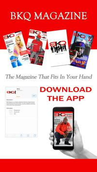 BKQ Magazine poster