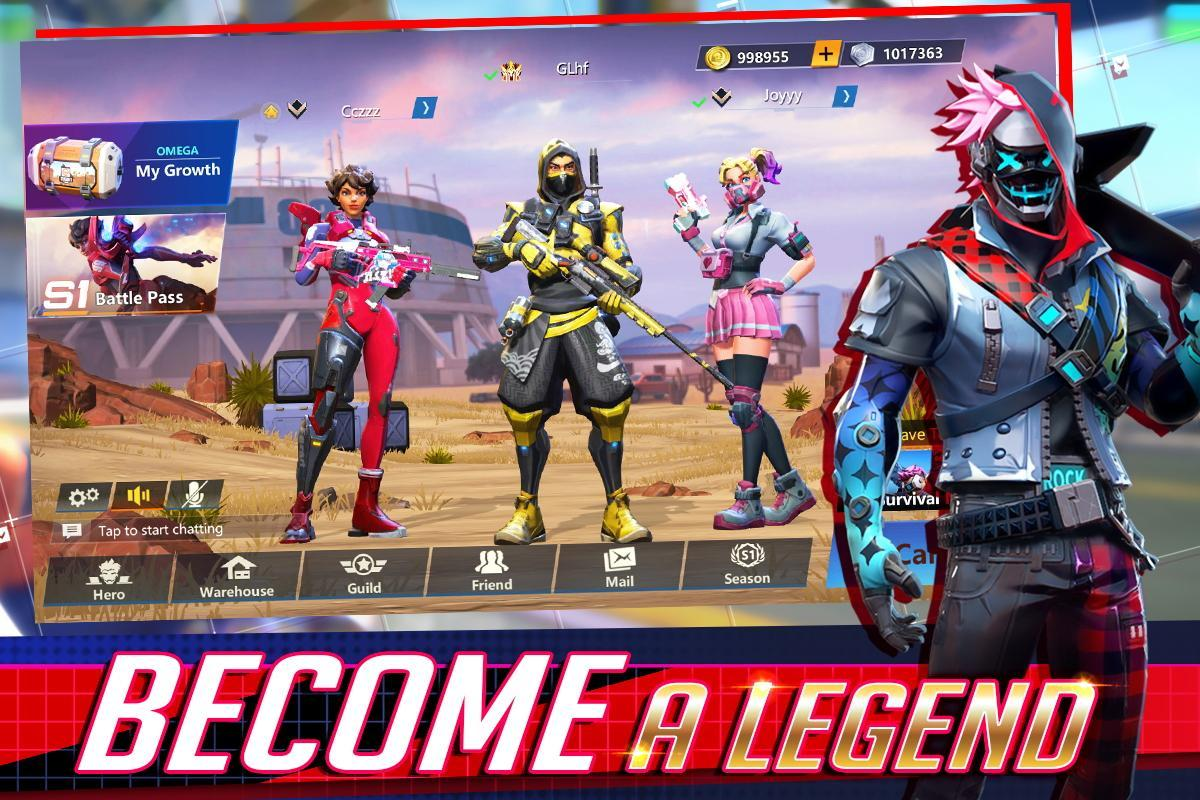 Omega Legends For Android Apk Download