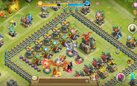 Castle Clash: حرب التحالفات تصوير الشاشة 20