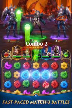 Deck Heroes: Puzzle RPG poster
