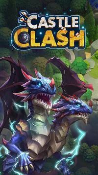 Castle Clash: Episches Reich ES Plakat