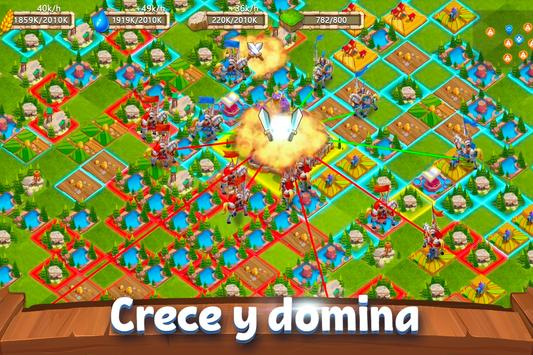 Castle Clash: Dominio del Reino الملصق
