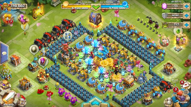 Castle Clash: Episches Reich ES Screenshot 11