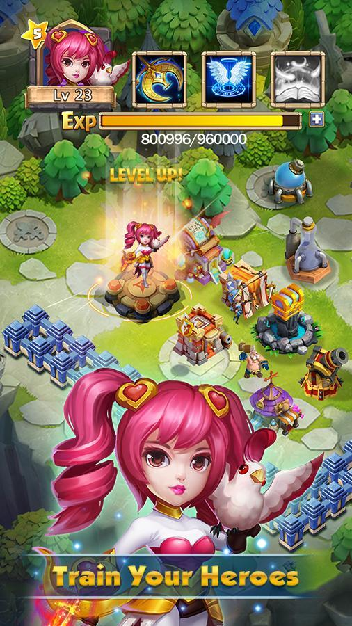 Castle Clash download app for Android - eenternet
