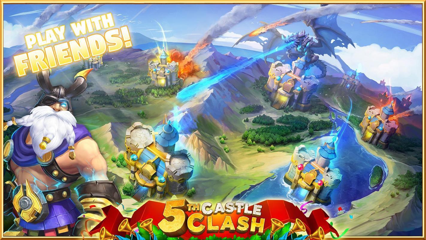 Castle Clash تصوير الشاشة 4