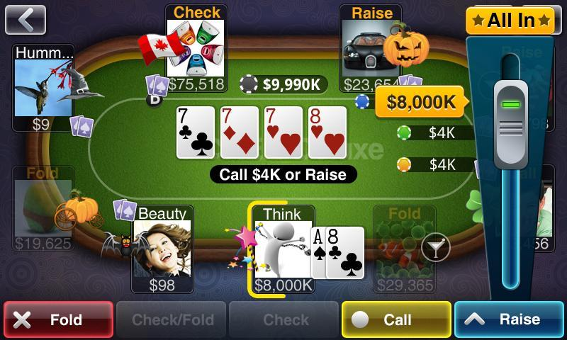 Pokern Texas Holdem