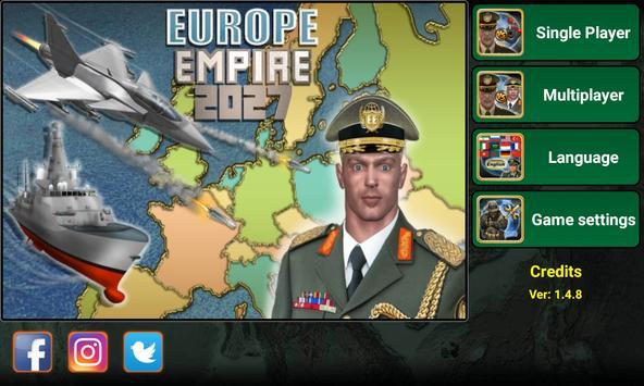 Europe Empire 2027 海报