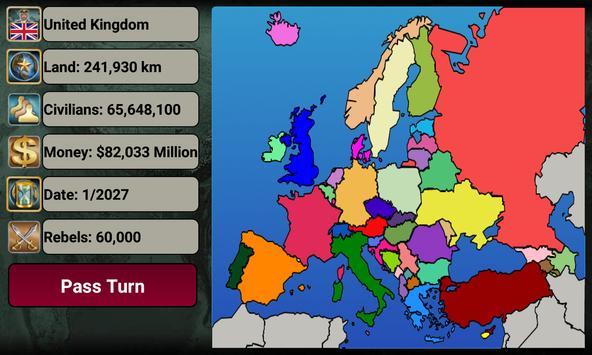 Europe Empire 2027 截图 1