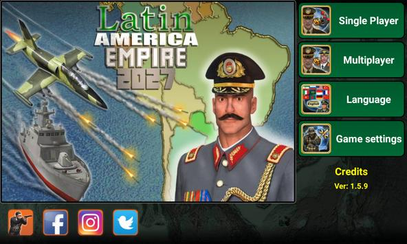 Latin America Empire 2027 poster