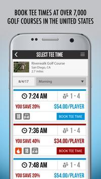 iGolf - GPS & Tee Times capture d'écran 1
