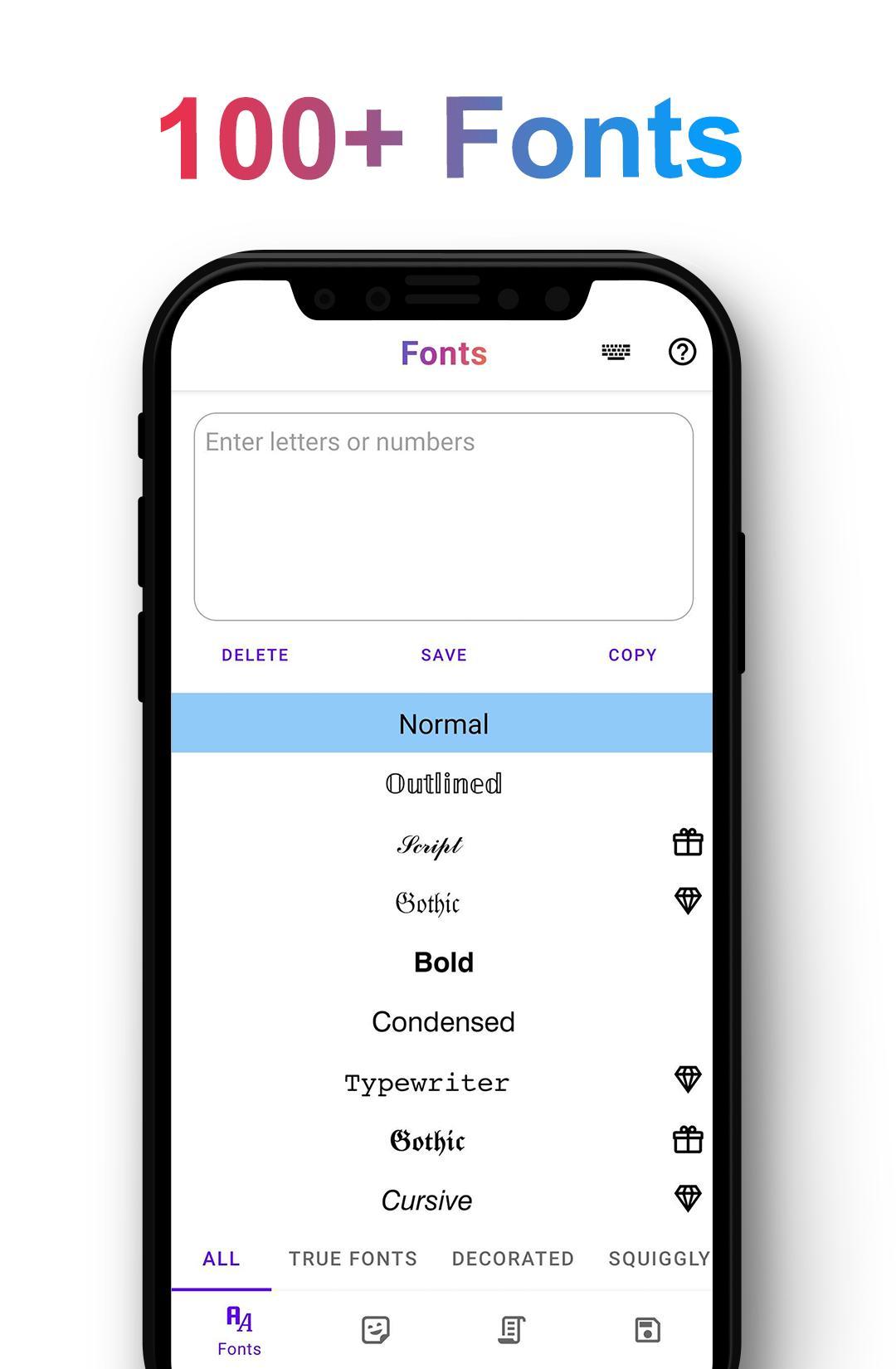 Schriftart ändern Text Konvertieren Für Android Apk