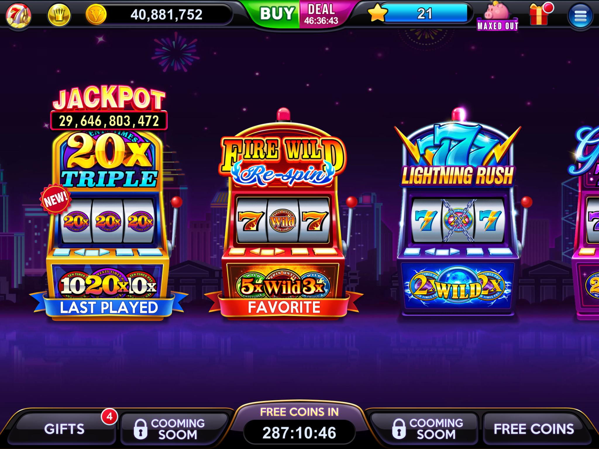 high five casino app page