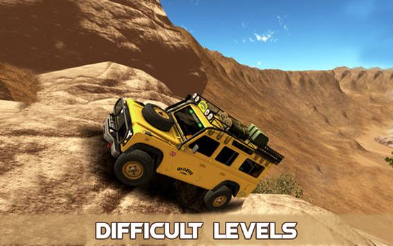 4x4 Jeep Simulation Offroad Cruiser Driving Game poster