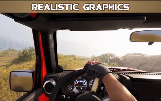 4x4 Jeep Simulation Offroad Cruiser Driving Game screenshot 2