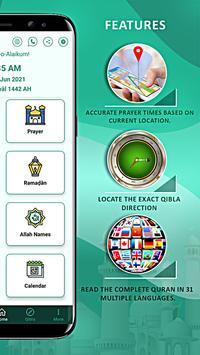 Islamic guide pro: Athan Quran Prayer Times, Qibla screenshot 11