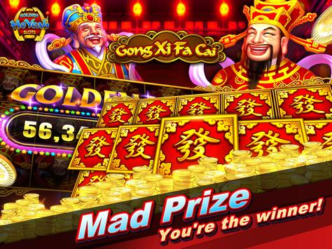 Slots (Golden HoYeah) - Casino Slots screenshot 11