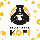 Black Bear Kofi icon