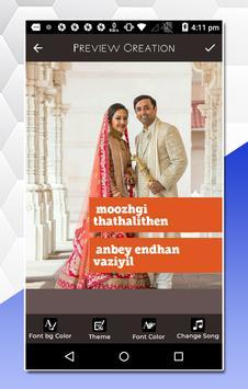 MV video master, Tamil Lyrical Video Status Maker screenshot 3