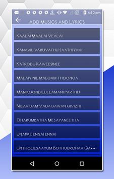 MV video master, Tamil Lyrical Video Status Maker poster