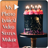 My Photo Birthday Lyrical Video Status Maker icon