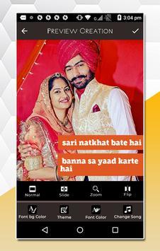 Rajasthani Lyrical Video Status Maker screenshot 4
