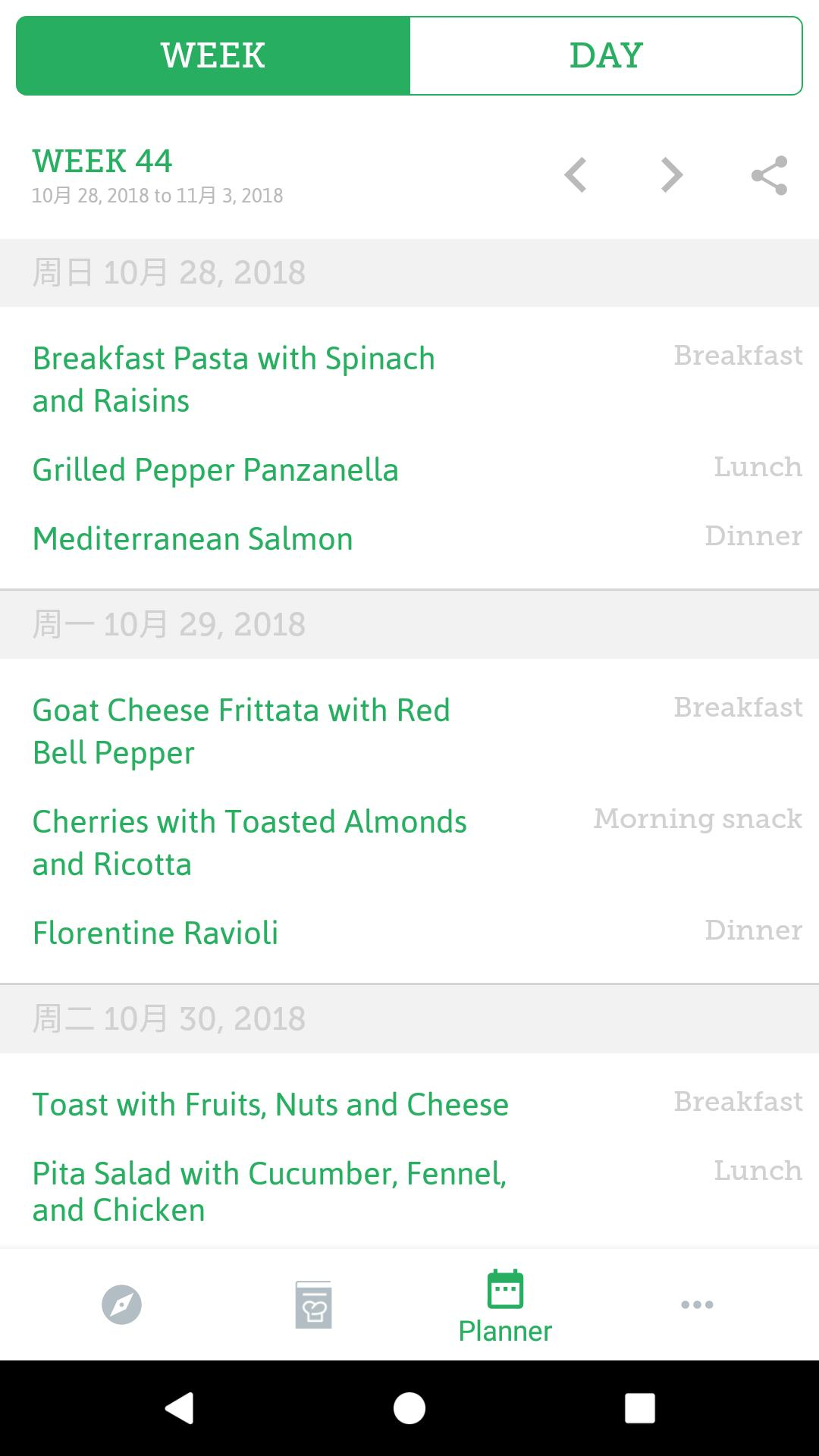 14-Day Mediterranean Diet Meal Plan for Android - APK Download