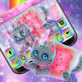 Rainbow Cat Keyboard Theme icon