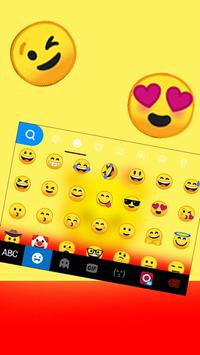 Tema Keyboard Yellow Bear screenshot 2