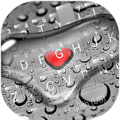 Droplet Love Keyboard Theme icon