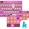 Pinkglitter Tema de teclado icono