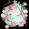 Thème de clavier Springtime Flowers icône