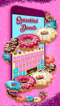 Sprinkled Donuts Kika Keyboard screenshot 2