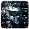 Tema Keyboard Anonymous Smoke ícone