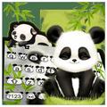 最新版、クールなBaby Pandaのテーマキーボード