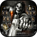 Badace Skull Guns Keyboard - cool gun theme